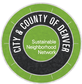 CIty and County of Denver Sustainable Neighborhood Network logo