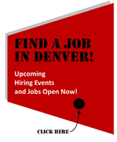 Find a job in Denver! Upcoming Hiring Events and Jobs Open Now! Click on the image to go to www.denvergov.org/workforce